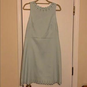 LOFT mint green dress NWOT
